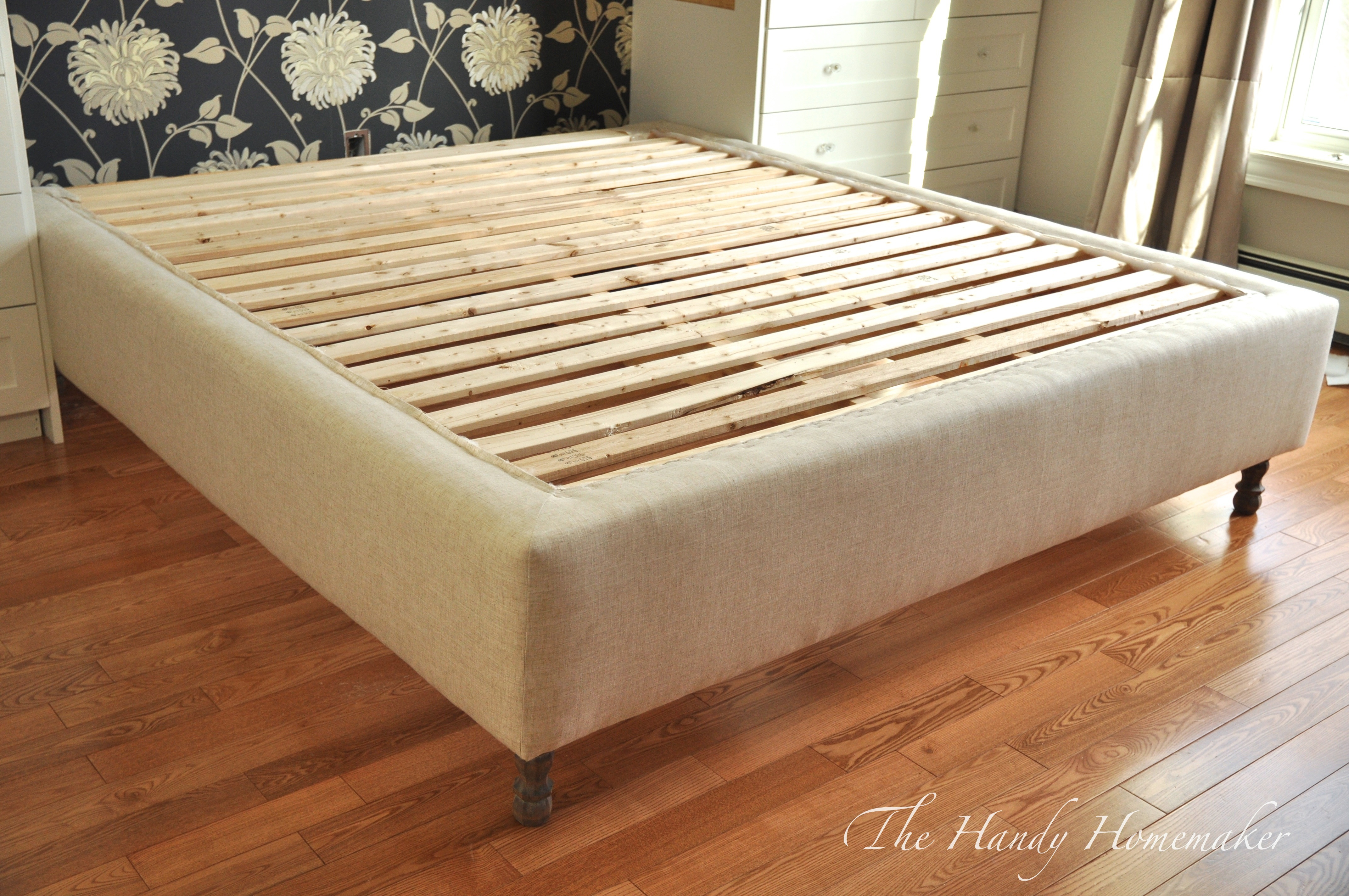 Upholstered Bed Frame DIY Part 1 – THE HANDY HOMEMAKER