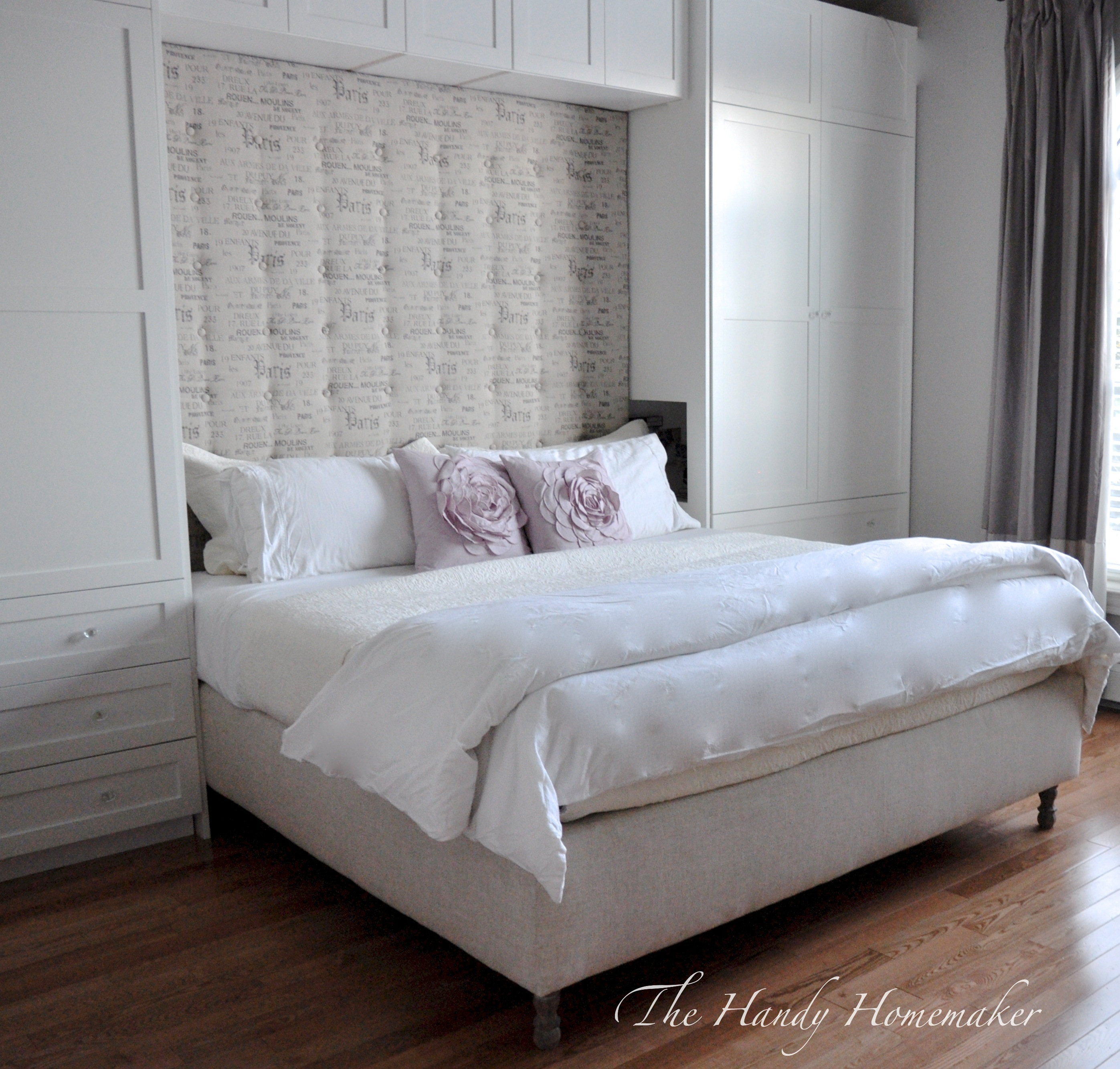 DIY Upholstered Headboard – THE HANDY HOMEMAKER