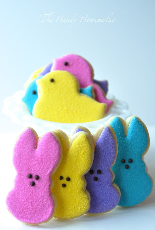 Easter Peep Cookies