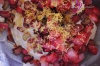 Gently stir in strawberries and rhubarb