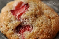 Yummy Strawberry Rhubarb muffins