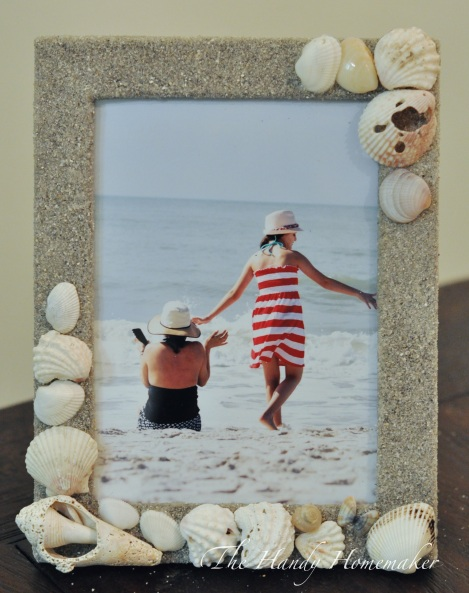 Seashore Beach Vacation Memory Picture Frame