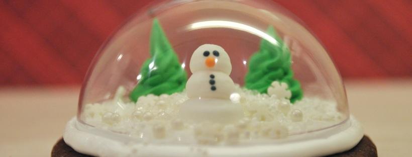 A Snow Globe Christmas Event 3d Snow Globe Cookies