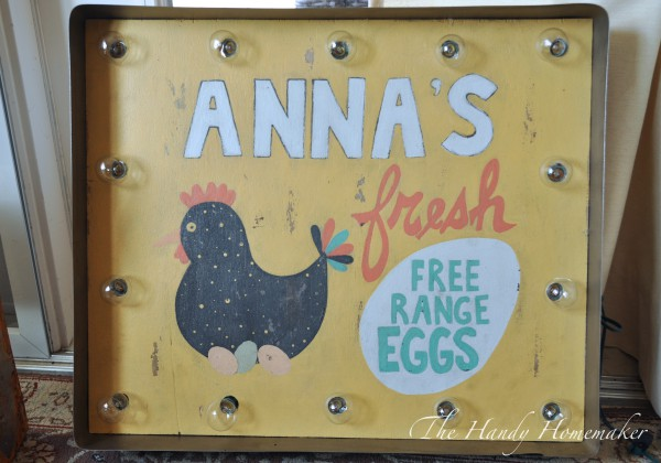 Fresh Egg Chicken Coop Sign