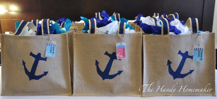 Diy Destination Wedding Gift Bags : DIY Nautical Beach Bag ~ Perfect for a Destination Event or Wedding