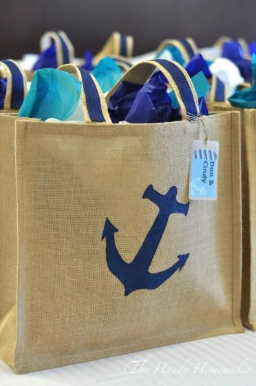 Diy Destination Wedding Gift Bags : DIY Nautical Beach Bag ~ Perfect for a Destination Event or Wedding ...