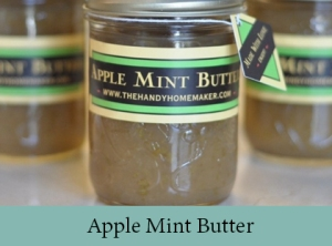 Apple Mint Butter 2
