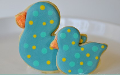 Baby Shower or Easter theme Cookies 2