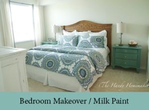 Bedroom Makeover Milk Paint 2