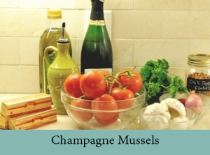 Champagne Mussels 2