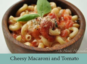 Cheesy Macaroni and Tomato 2