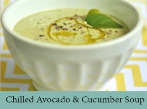 Chilled Avocado & Cucumber Soup 2