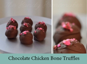 Chocolate Chicken Bone Truffles 2