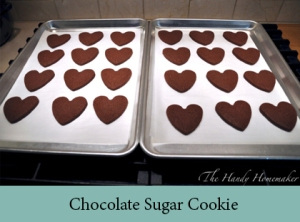 Chocolate Sugar Cookie 2