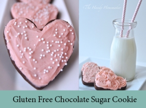 Chocolate Sugar Cookie -  with a Gluten Free 2