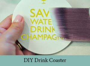 DIY Drink Coaster