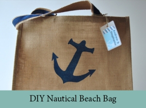 DIY Nautical Beach Bag2
