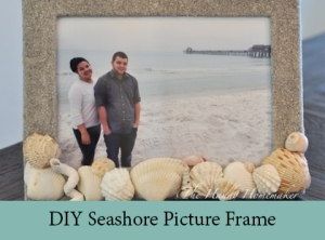 DIY Seashore Picture Frame2
