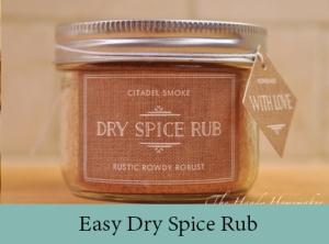 Dry Spice rub 2