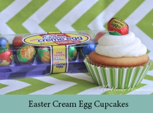 Easter Cream Egg Cupcakes 2