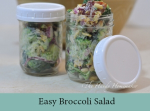 Easy Broccoli Salad 2