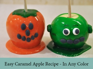 Easy Caramel Apple Recipe - In Any Color2