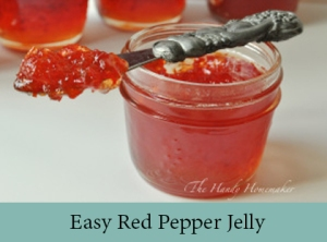 Easy Red Pepper Jelly 2