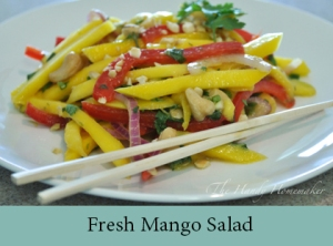 Fresh Mango Salad 2