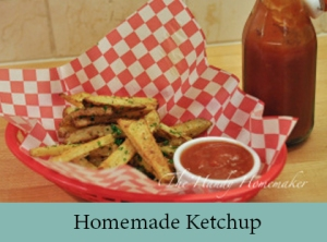 Homemade Ketchup 2