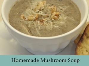 Homemade Mushroom Soup 2