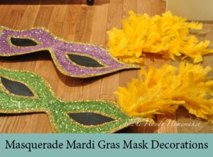 Masquerade Mardi Gras Mask Decorations2
