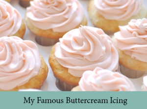 My Famous Vegan Buttercream Icing