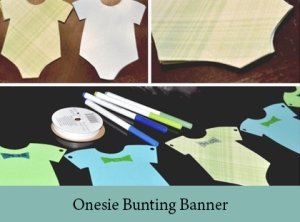 Onesie Bunting Banner2