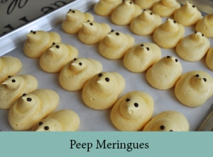 Peep Meringues 2