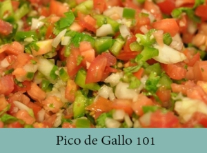 Pico de Gallo 101 2