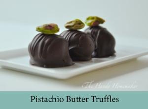 Pistachio Butter Truffles 2