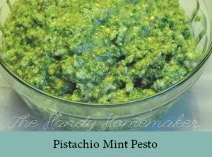 Pistachio Mint Pesto 2