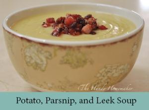 Potato, Parsnip, and Leek Soup 2