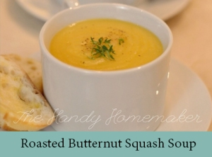 Roasted Butternut Squash Soup 2