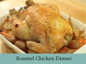 Roasted Chicken Dinner 2
