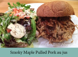 Smoky Maple Pulled Pork au jus 2