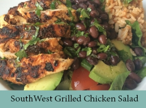 SouthWest Grilled Chicken with Zesty Lime Dressing 2