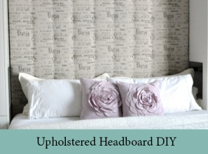 Upholstered Headboard DIY 2