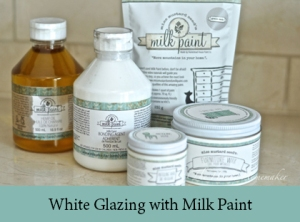 White Glazing with Milk Paint2