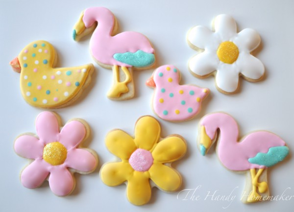 Get your Ducks in a row ~ Baby Shower or Easter theme Cookies