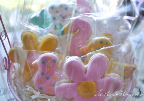 Baby shower Easter Cookies