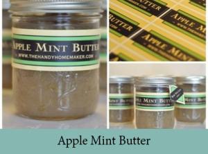 Apple Mint Butter