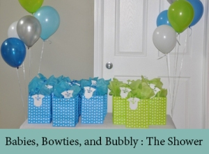 Babies, Bowties, and Bubbly The Shower 2