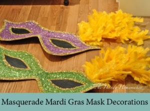 Masquerade Mardi Gras Mask Decorations 2