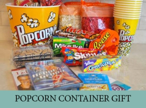 POPCORN CONTAINER GIFT